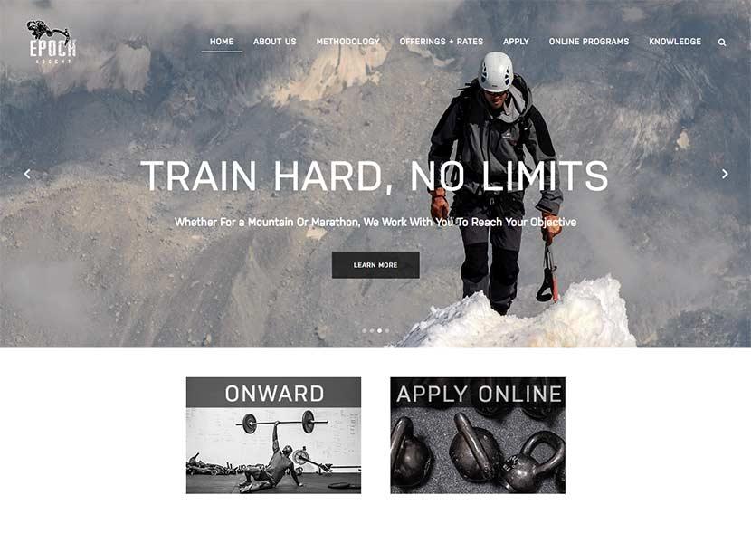 Personal Trainer Website Bend Oregon