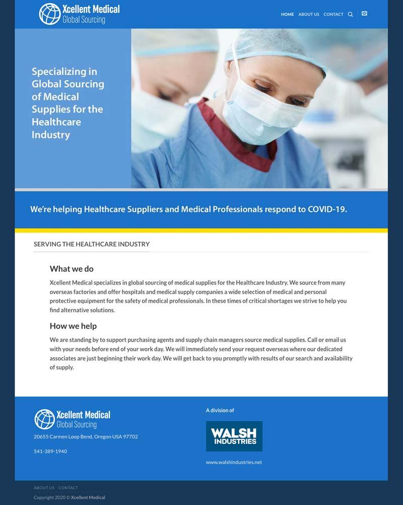 Xcellent Medical Website Design